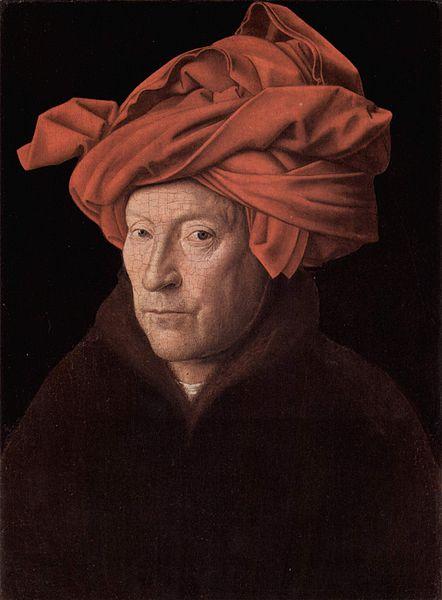'De man met de rode tulband' alias Jan van Eyck